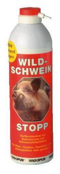 Wildschwein-Stopp