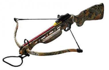 Armbrust Python 150 lbs. Camoflage-Design u. Holzschaft
