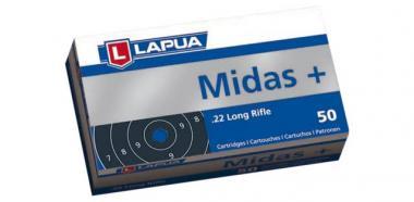 Lapua Midas+ 22 lr A50