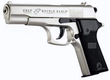Colt Colt Double Eagle Combat Commander Kal. 9 mm PAK vernickelt