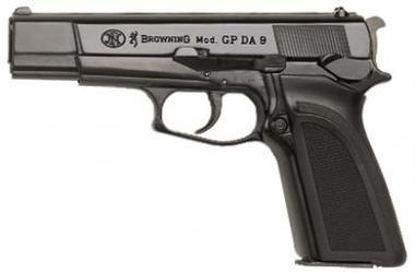 FN Browning FN GPDA 9 Kal. 9 mm PAK brüniert m. Kunststoffgriffschalen