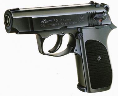 Röhm RG 88 Kal. 9 mm PAK brüniert