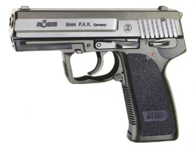 Röhm RG 96 Kal. 9 mm PAK veloursvernickelt