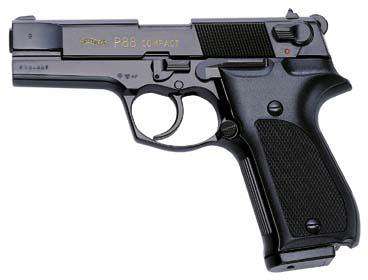 Walther Walther P88 Compact Kal. 9 mm PAK brüniert