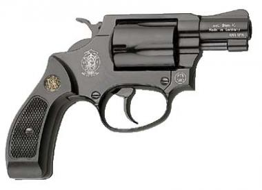 Reck Smith & Wesson Chiefs Special Kal. 9 mm R brüniert