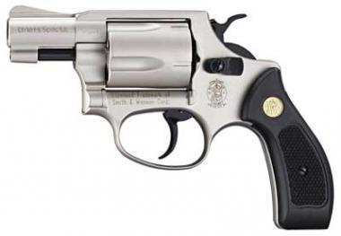 Reck Smith & Wesson Chiefs Special Kal. 9 mm R vernickelt
