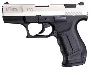 Walther Walther P99 Kal. 9 mm PAK vernickelt