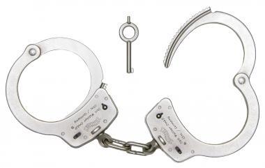 Handfessel Polizei-Standard aus Edelstahl