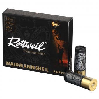 RWS Rottweil Waidmannsheil schwarz Pappe