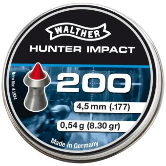Walther Hunter Impact Spitzkopf-Diabolos 4,5 mm