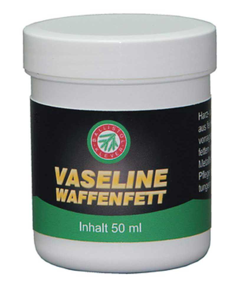 Vaseline-Waffenfett