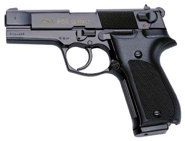 Walther P88 Compact Kal. 9 mm PAK brüniert