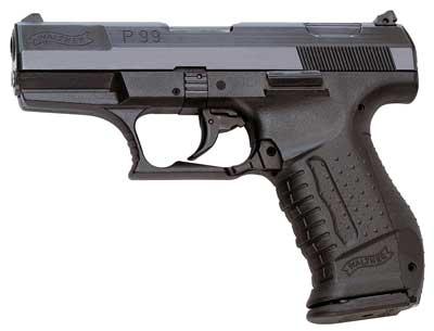 Walther P99 Kal. 9 mm PAK brüniert