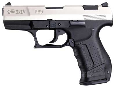 Walther P99 Kal. 9 mm PAK vernickelt